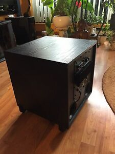 Home theatre subwoofer. Barely used.