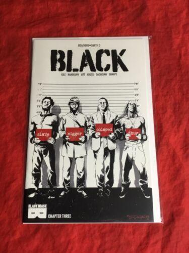 BLACK #3~UN-CENSORED VARIANT~JAMAL IGLE KHARY RANDOLPH OSAJYEFO LITT RIGGS~