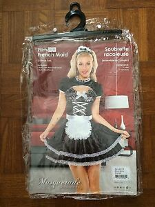 French Maid Costume Size Small