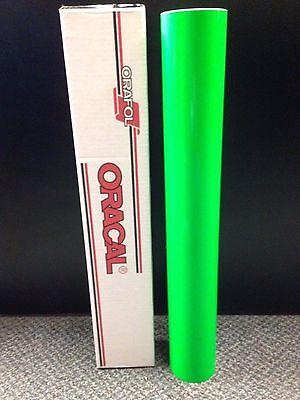 Oracal 6510 1 Roll 24x10ft Fluorescent Green 069 Sign Vinyl