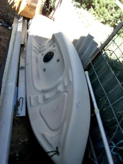 Kayak canoe paddle Australian made near new