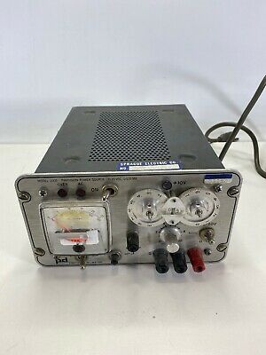 Power Designs Model 2005 Precision Power Source 0-20 Vdc 0-500 Ma