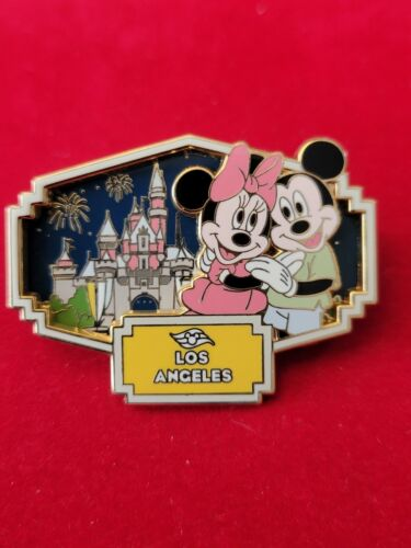 Disney Cruise Line Pin 2008  Los Angeles Mickey and Minnie Mouse
