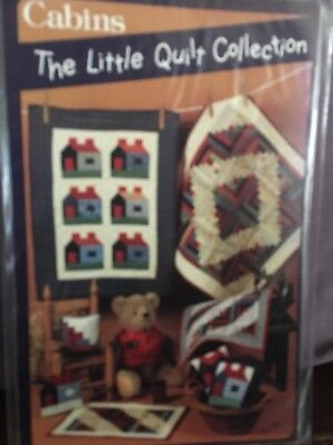 Quilt pattern: The Little Quilt Collection : Cabins.