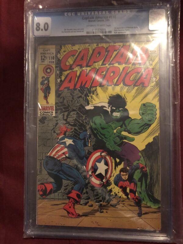 Captain America #110 (Feb 1969, Marvel)