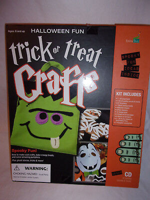 Trick or Treat Crafts Ages 8+ Spicebox Halloween Fun Kit Child Party Ideas