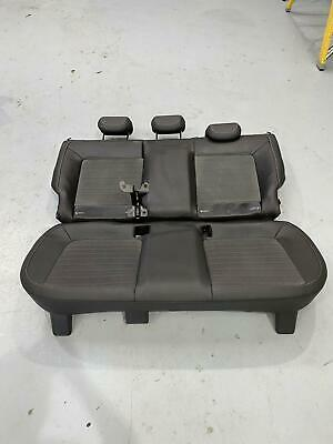 Vauxhall Corsa D VXR Half Leather Rear Seats Seat Bench Headrests Isofix
