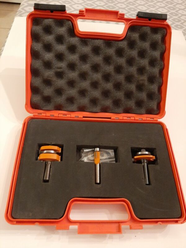 CMT ORANGE TOOLS  3 PIECE TONGUE AND GROOVE SET 800.525.11