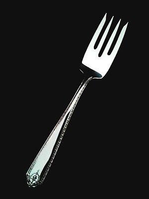 Lady Salad Fork - 🍴 Westmorland Lady Hilton Sterling Silver Salad Fork - 6 1/8