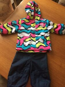Baby girls spring/fall jacket with splash pants