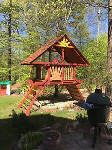 Rainbow Play structure