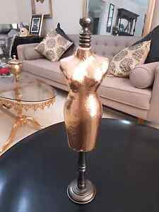 Gold display mannequin Smeaton Grange Camden Area Preview