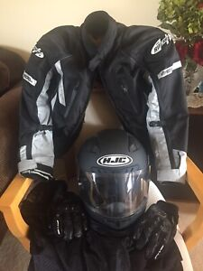 Motorbike gear in new condition