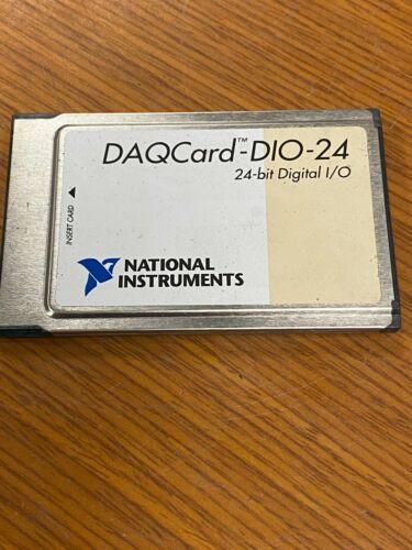 👀 NATIONAL INSTRUMENTS 24-BIT DIGITAL I/O CARD DAQCARD-DIO-24