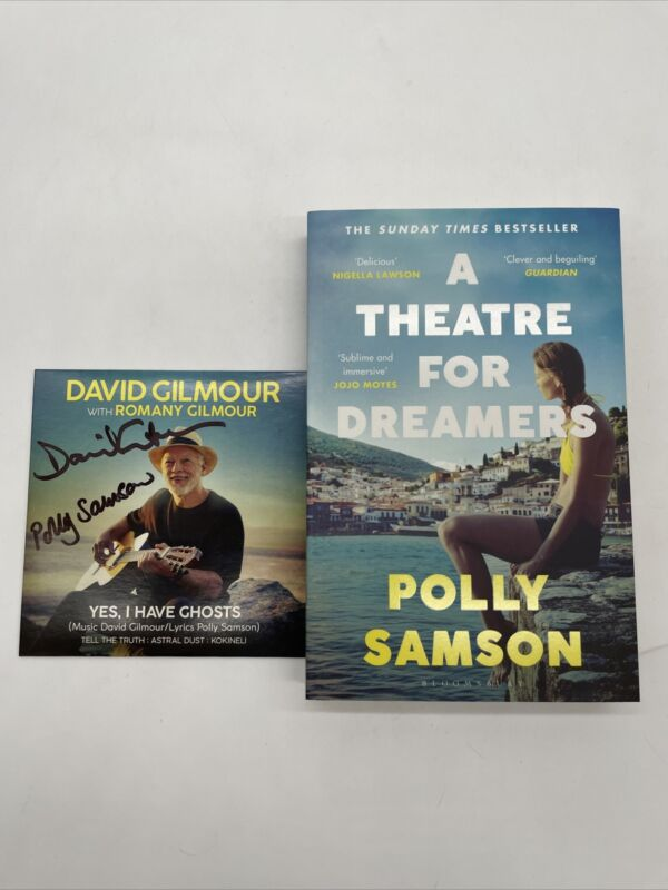 *Signed* A Theatre for Dreamers Book Polly Samson & David Gilmour CD Pink Floyd