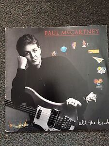 Paul McCartney All The Best Vinyl Album