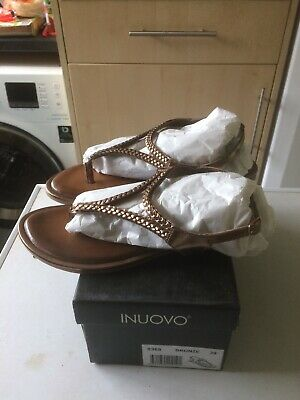 Inuovo 8368 Ladies Sandal Size 6