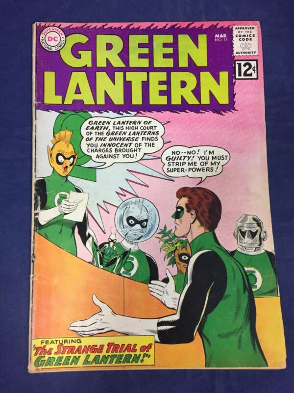 GREEN LANTERN #11, DC COMICS 1962