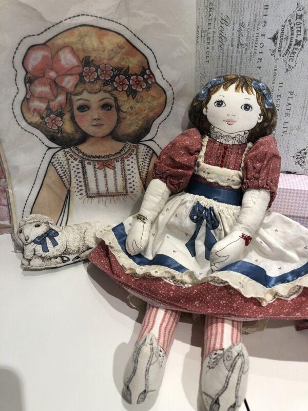 Dorothy Dear Doll 210k Pattern & Cloth Stuffed Doll