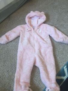Carters 9 month fleece suit