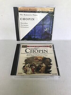 The best of Frederic Chopin and The romantic piano CD CDs DDD label Like (The Best Of Chopin Piano)