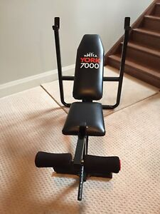 York 7000 Weight Bench