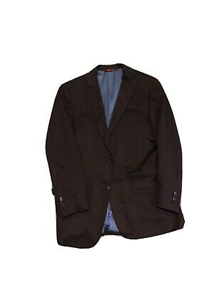 ISAIA Brown 100% CASHMERE Blazer Sport Coat Jacket EU 54 L US 42 L SURGEON CUFFS