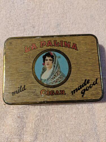 Vintage La Palina cigar tin
