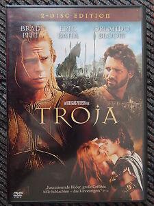 TROJA - Brad Pitt, Eric Bana, Orlando Bloom - 2 DVDs - <span itemprop='availableAtOrFrom'>Hausmannstätten, Österreich</span> - TROJA - Brad Pitt, Eric Bana, Orlando Bloom - 2 DVDs - Hausmannstätten, Österreich