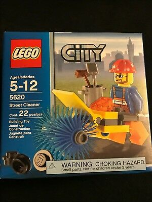 Lego 5620 City Construction Street Cleaner NEW