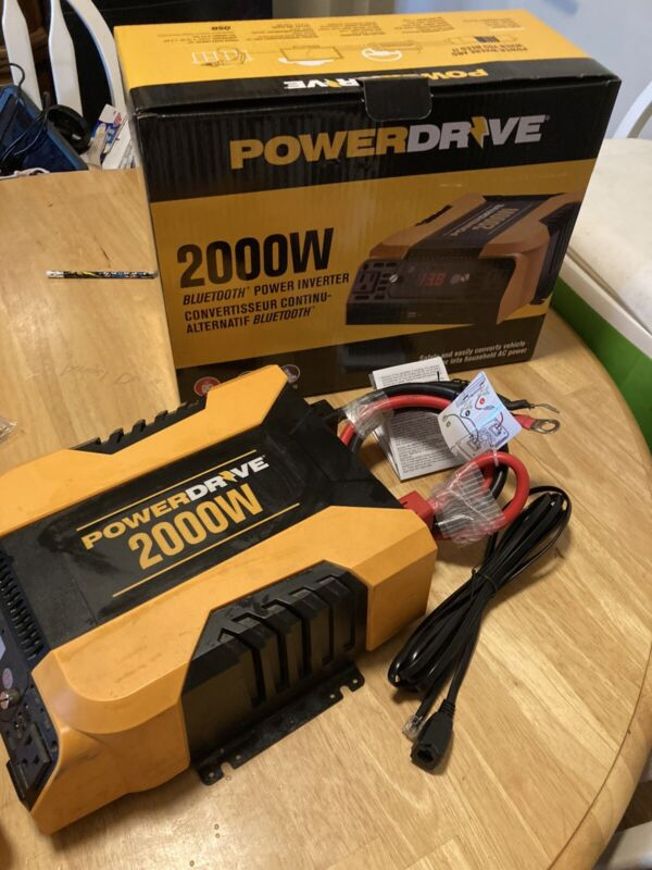 POWERDRIVE 2000W PD2000 POWER INVERTER 4 - FREE SHIPPING