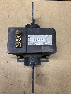 General Electric Current Transformer 752x20g6 Jcm-2 12005 Amp Ratio Used