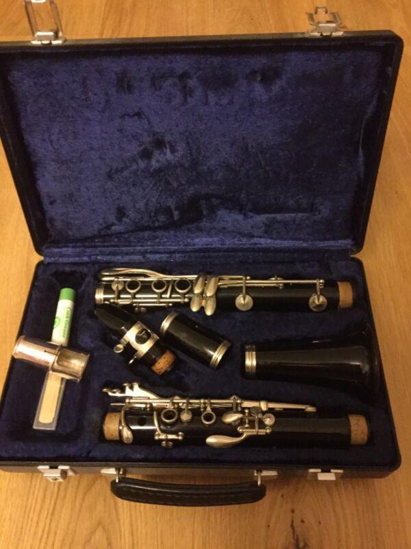Vintage Buffet Crampon A Paris B12 Clarinet Serial No 447109 In Original Case