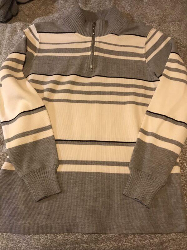 Girls Sweater Long Sleeve Shirt Size Medium