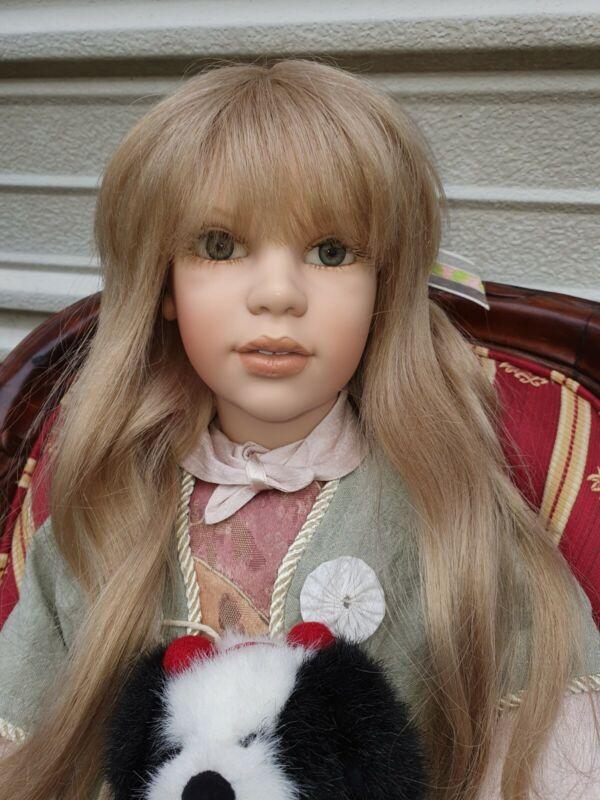 """Signed Violetta 28"""" Doll By Zofia and Henry Zawieruszynski # 30/150"""