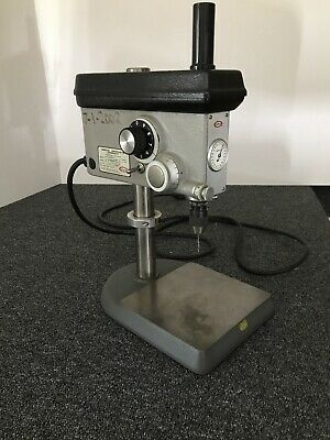 Servo Variable Speed Sensitive Precision Benchtop Drill Press. Model 7000