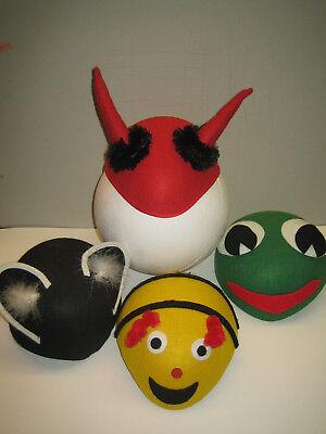 Hüte (Frosch, Katze, Teufel, Biene), neu  (Katze Biene Kostüm)