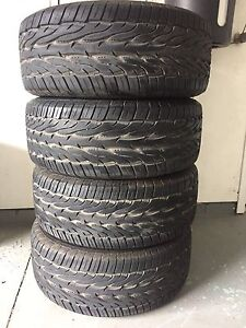 4x  275/55R17 Toyo Proxes St II tires