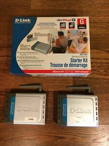 D-link wireless routers (2 available)
