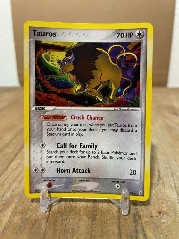 Tauros #128 silver foil Holo Pokemon Card Topps Series 3  Rare
