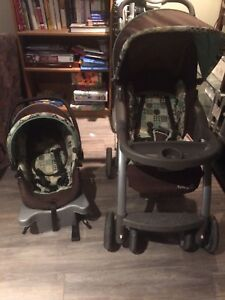 Stroller and bucket seat