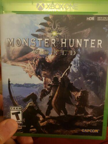 Monster Hunter World Xbox One, 2018  - $6.50