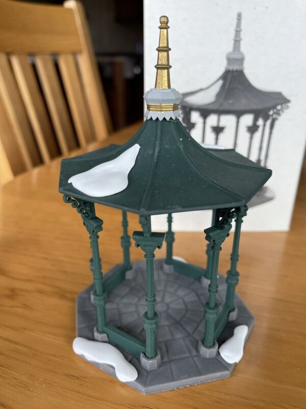 heritage village collection department 56 Town Square Gazebo 5513-1