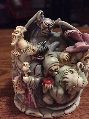 DISNEY Harmony Kingdom Wicked Ways Villians Box Figurine LTD 0121/5000 MIB w/COA