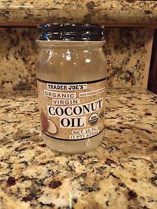 trader joes organic virgin coconut oil 16 fl oz. Black Bedroom Furniture Sets. Home Design Ideas