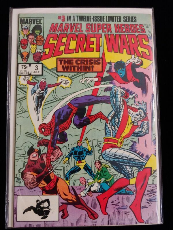 Marvel Super Heroes Secret Wars #3 (1984) KEY!! 1st Titania & Volcana (She Hulk)