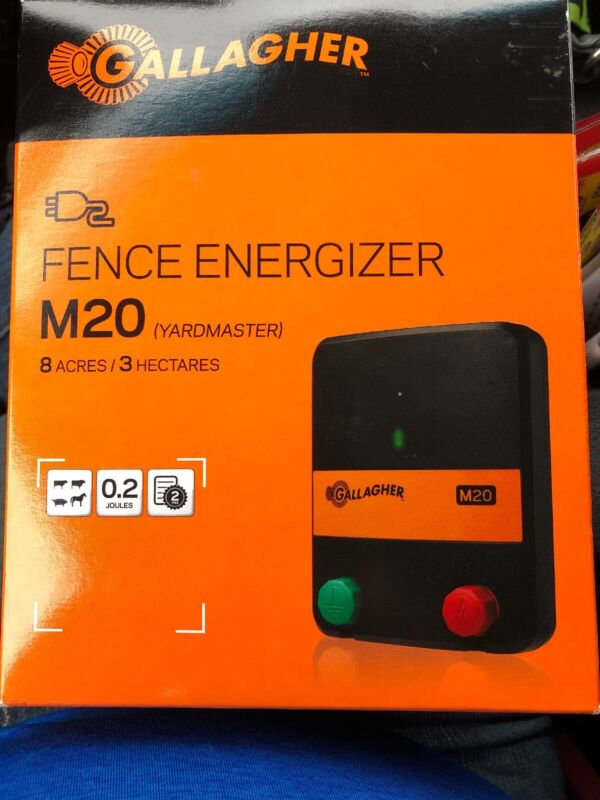 Gallagher Yardmaster M20, Electric Fence Charger