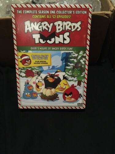 Angry Birds Toons Complete Season One With Bonus Disc, New And Sealed - $4.00