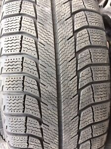 225/60R16 Michelin X-ICE winter tires on rims