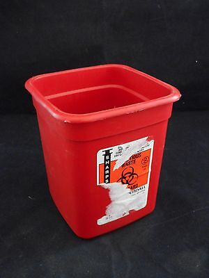 Tyco Kendall Phlebotomy Sharps Disposal Container 12 Qt Travel Size Wo Lid